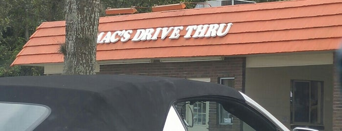 Mac's Drive Thru is one of G A I N E S V I L L E.