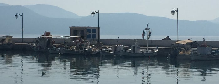 Kalamos Marina is one of Lieux qui ont plu à Banu Y.