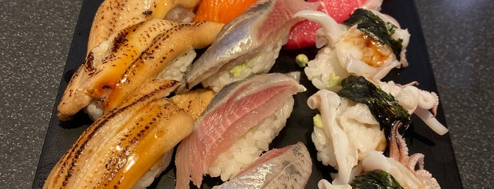 Sushizanmai is one of Japón.