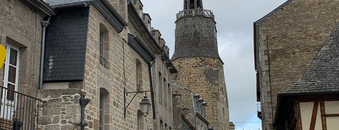 Dinan is one of Cidades.