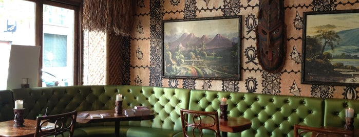 Trader Vic's is one of The best of The Pearl.