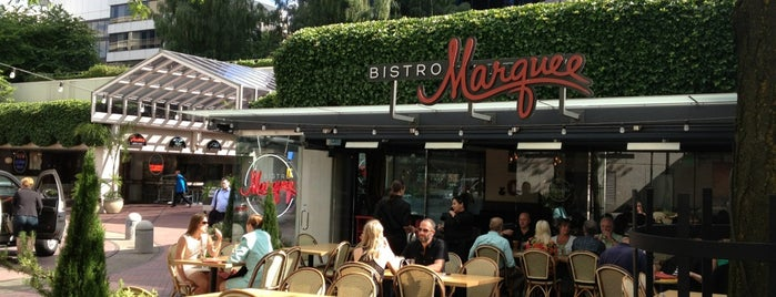 Bistro Marquee is one of Happy Hours To Try.