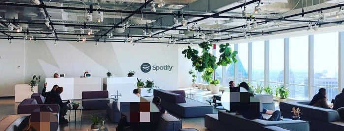 Spotify WTC is one of Spotify spots  #lifeatSpotify.