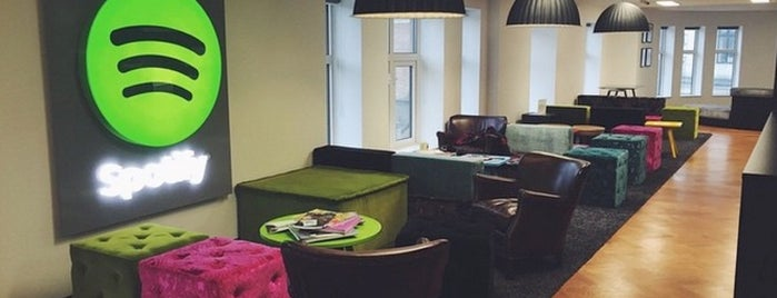 Spotify London is one of Spotify spots  #lifeatSpotify.