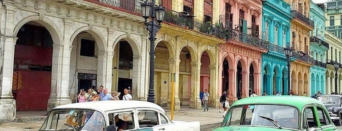 La Habana Vieja is one of Ciudad de La Habana, Cuba.