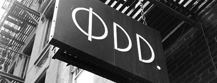 ØDD. New York is one of LES boutiques.