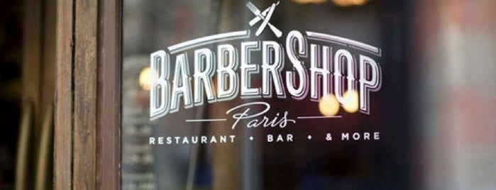 Barbershop is one of restos.