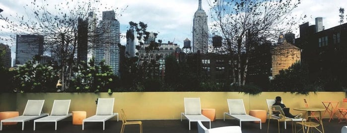 Spotify Rooftop is one of New York 2018.