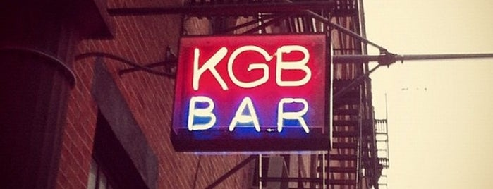 KGB Bar is one of vin to do.