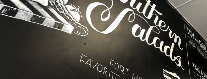 Southern Salads and Sandwich Company is one of Fort Mill & Tega Cat.