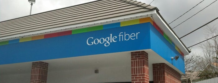 Google Fiber Space is one of Tech Time.