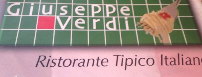 Giuseppe Verdi is one of Restaurantes visitados.