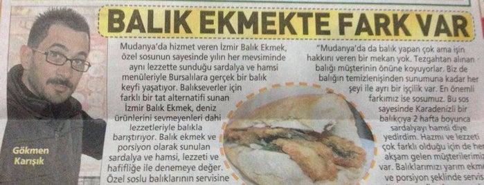 İzmir Balık Ekmek is one of Bursa Gezilerim.