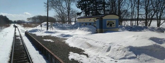 Shimonuma Station is one of JR 홋카이도역 (JR 北海道地方の駅).