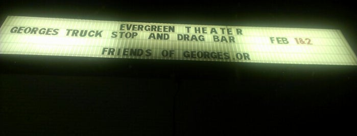 The Evergreen Theatre is one of Lugares guardados de Molly.
