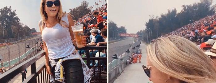 F1 Gran Premio de México is one of Diana'nın Beğendiği Mekanlar.