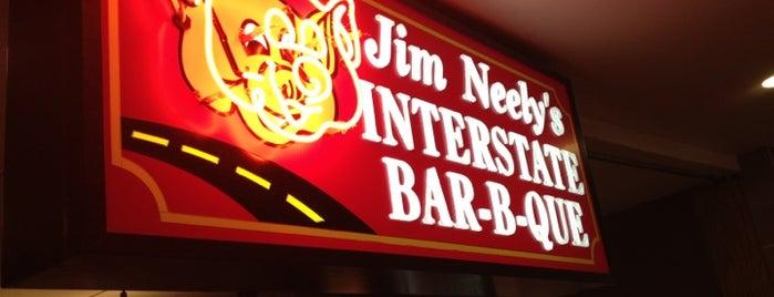 Jim Neely's Interstate Bar-B-Que is one of Lieux qui ont plu à David.