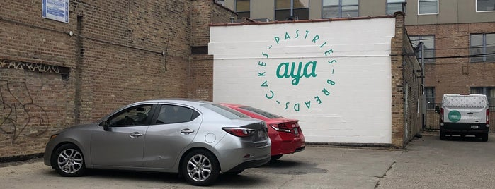 Aya Bakery is one of chicago - happy places.