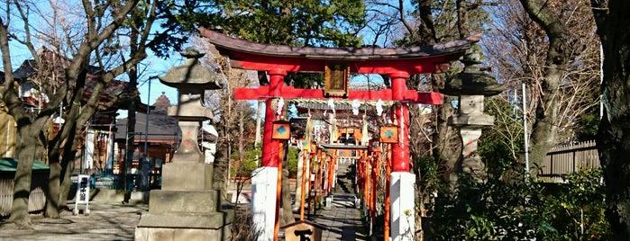 塚越稲荷神社 is one of 神輿で訪れた場所-1.