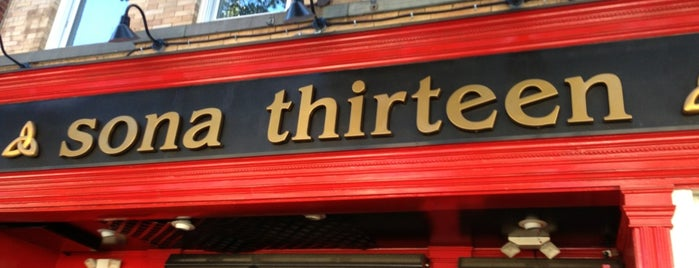 Sona Thirteen is one of Drinkstrong Bar Crawl.