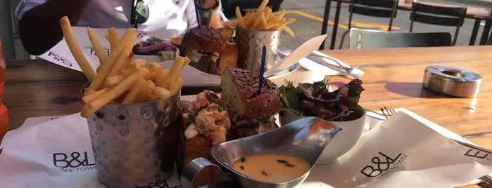 Burger & Lobster is one of Cape Town.