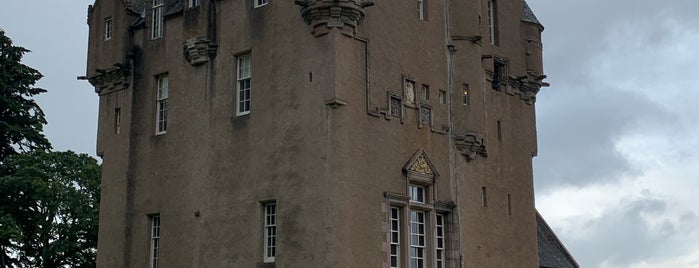 Crathes Castle is one of Scotland.