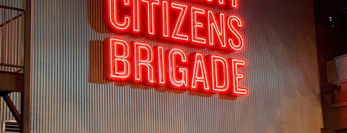 Upright Citizens Brigade Theater Sunset is one of California King.
