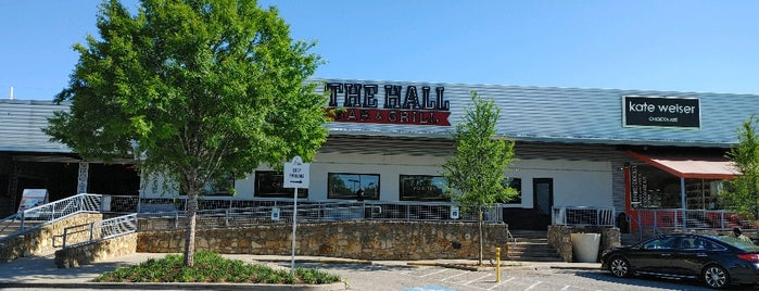 The Hall Bar & Grill is one of DFW.