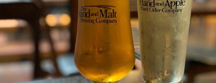 The Hand And Malt Brewing TAPROOM is one of SEL Cafe&Bar.