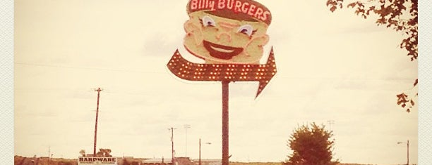 Billys Burgers is one of Neon/Signs Washington.