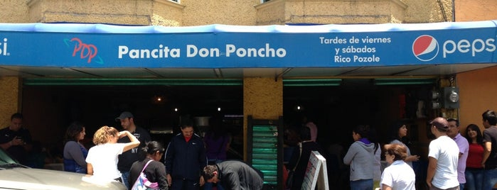Pancita Don Poncho is one of Lieux sauvegardés par Nestor.