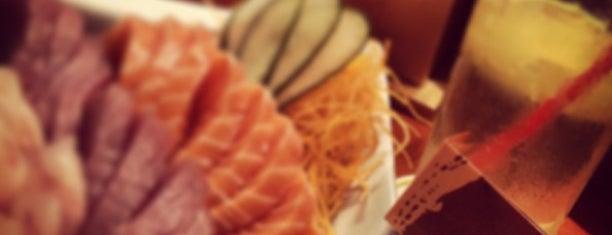 Edo Sushi Bar is one of Tempat yang Disukai Sebastian.
