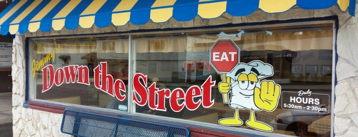 Jimmy's Down The Street is one of Culinary Destinations.
