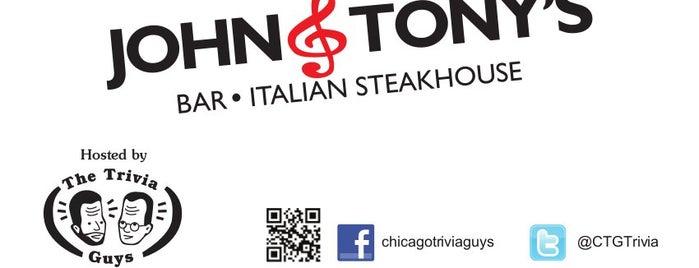 John & Tony's is one of Tempat yang Disukai Mark.