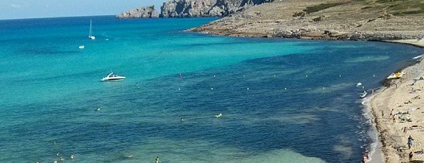 Cala Mesquida / S'Arenal de sa Mesquida is one of You, beach! (Mallorca).