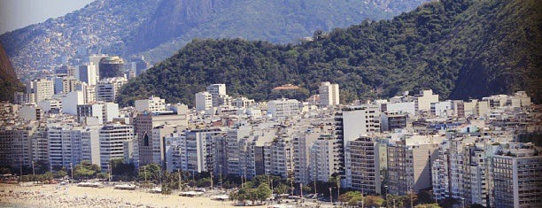 Praia de Copacabana is one of Rio.