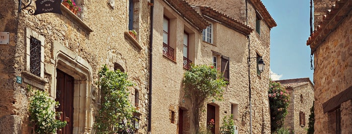 Tourtour is one of Les plus beaux villages de France.