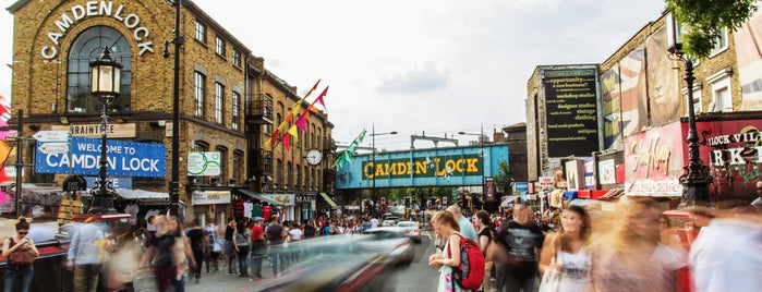 Camden Stables Market is one of My London.