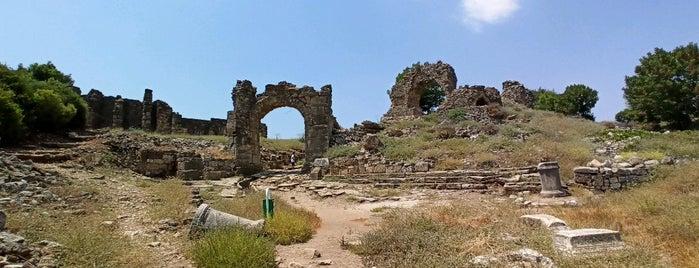 Aspendos Antik Kenti is one of Antalya.