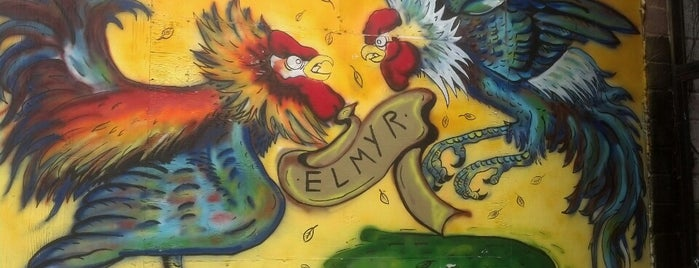 Elmyr Restaurant & Cantina is one of vegan friendly in atlanta ga.