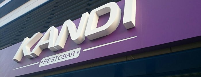 Kandi Restobar is one of Lu 님이 좋아한 장소.