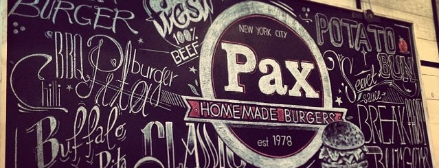 Pax Homemade Burgers is one of SKG Gastronomy✓.
