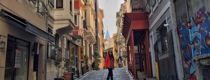 Serdar-ı Ekrem Sokak is one of Istanbul.