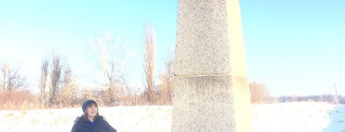 Поле Полтавской битвы is one of Полтава.