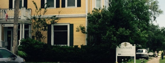 Coombs House Inn Apalachicola is one of Best Places to Check out in United States Pt 1.