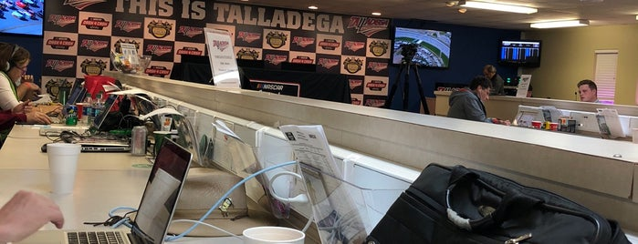 Talladega Superspeedway Media Center is one of Billさんのお気に入りスポット.