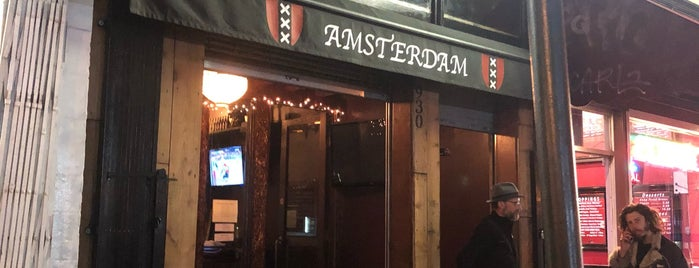 The Amsterdam is one of Lugares favoritos de Brian.