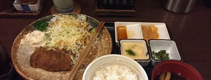 牛かつ もと村 is one of Melaさんのお気に入りスポット.