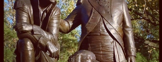 Lewis & Clark Statue is one of St. Louis.