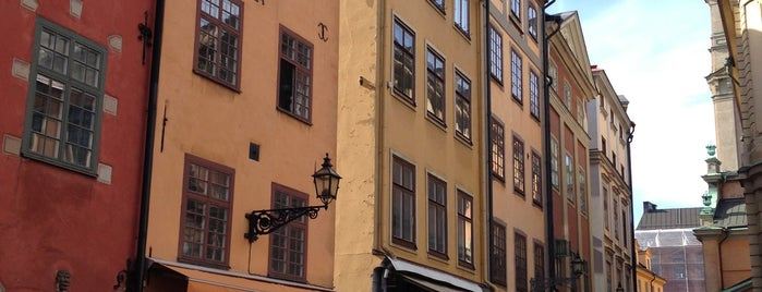 Gamla Stan is one of Stockholm must.